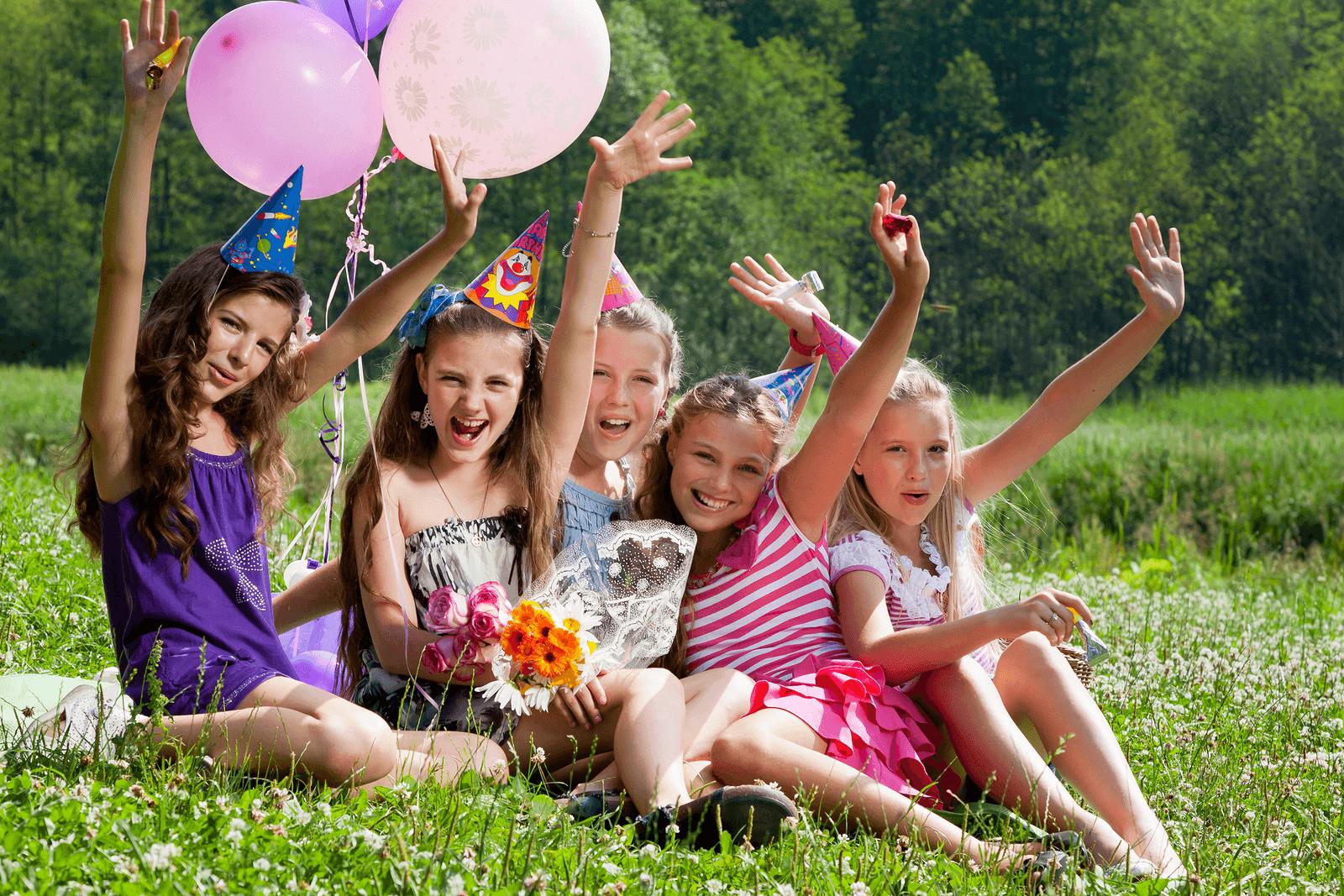 Конкурсы для дня рождения на природе для детей и взрослых