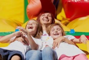 Renting a Bouncy House is as Easy as 1-2-3